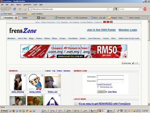 frenszone.com, situs pertemanan