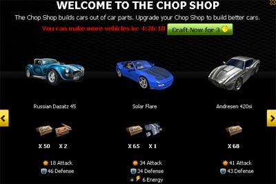 Chop Shop di Mafia Wars