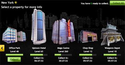 Property di New York - Mafia Wars - Game Online