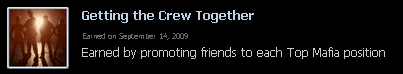 Reward - Getting the Crew Together