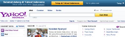 search engine yahoo.com
