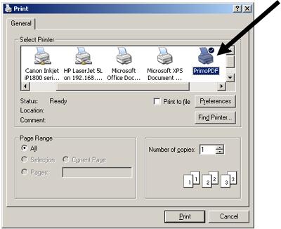 Pilihan Printer