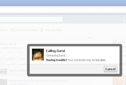 Contacting / Memanggil