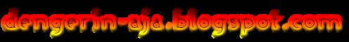 logo dengerin-aja.blogspot.com