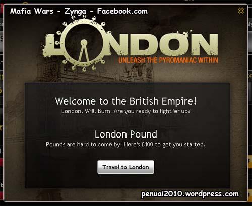 Selamat datang di London